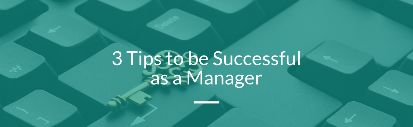 Success as a Manager